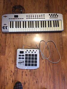 M Audio Midi and Trigger Finger drum pad