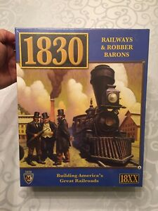 Rare 1830's Railways and Robber Baron's board game