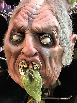 Distortions Unlimited Latex Frightmare Over Head Zombie Mask Made In USA