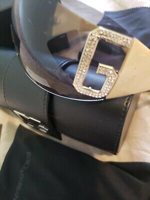 Dolce & Gabbana Mask Sunglasses With Box