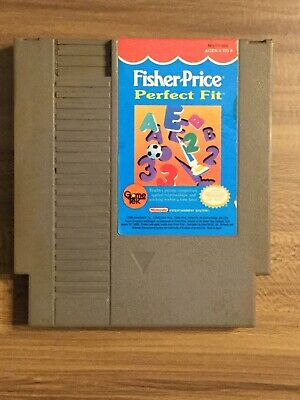 Fisher-Price: Perfect Fit - NES Nintendo *Authentic* Cleaned *Tested and Working