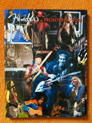Fender 2003 Frontline- RECALLED Keith Richards Edition-242 pg Catalog - MINT