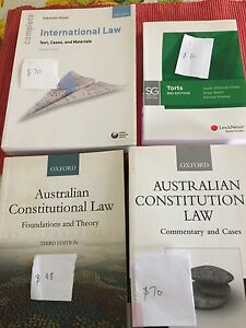 Law textbooks Thuringowa Central Townsville Surrounds Preview