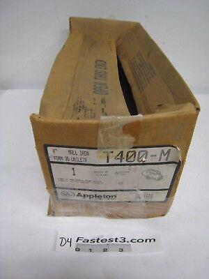 Appleton T400-M Mall Iron Form 35 Unilets