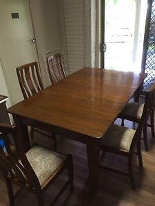 Classic antique  dining setting Pascoe Vale Moreland Area Preview