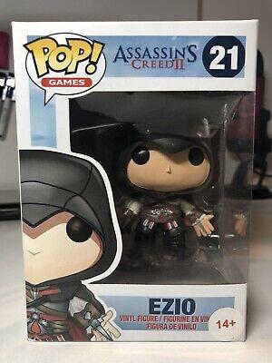 Assassins Creed Ezio Black Outfit Funko Pop! #21 Rare!