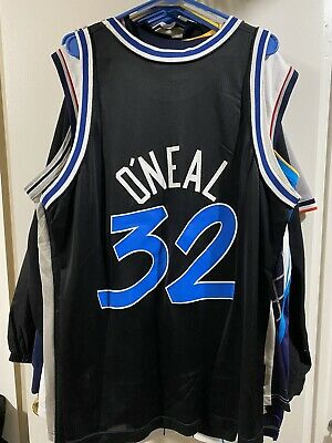 Shaq O'Neal Orlando Magic Champion Vintage NBA Basketball Jersey, Size Large