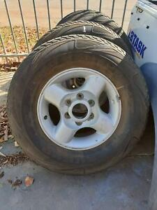 4 x Nissan Navara D22 Alloy wheels Beckenham Gosnells Area Preview