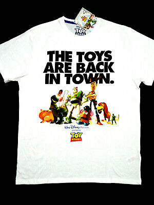 TOY STORY OFFICIAL DISNEY T-SHIRT WH COTTON SHT SLEEVE MENS LADIES BNWT PRIMARK
