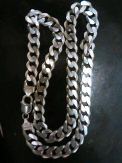 Mens thick silver necklace  Bunbury 6230 Bunbury Area Preview