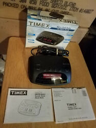 Timex Alarm Clock Radio With Nature Sounds T234B New in Box