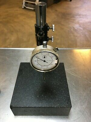 Granite Inspection Stand W Dial Indicator