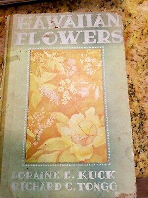 Hawaiian book of flowers vintage