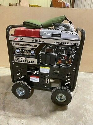 Kohler Command Pro Iii 9500 3 In 1 Gas Powered Welder Compressor Generator