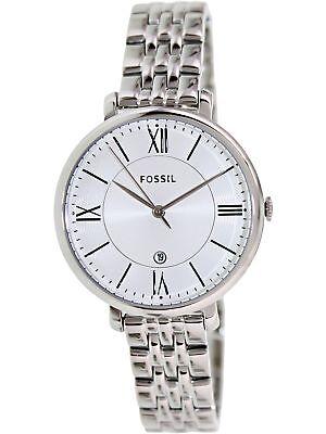 Fossil Women's Jacqueline ES3433 Silver Stainless-Steel Quartz Fashion Watch