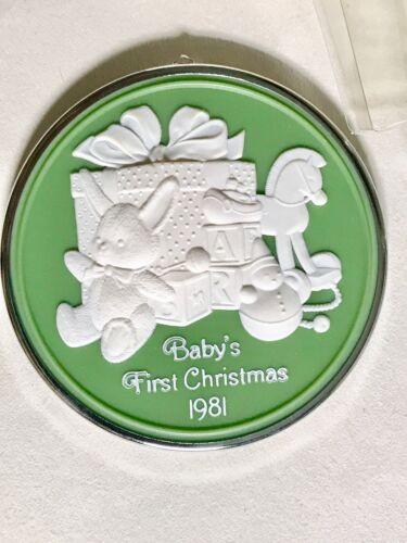Vtg 1981 Hallmark Baby