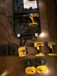 Lot outils dewalt 18 volts