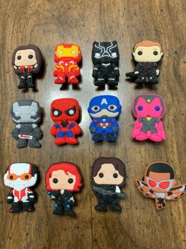 The Avengers 12 pcs Shoe Charms for Croc Shoe Jibbitz Bracelet