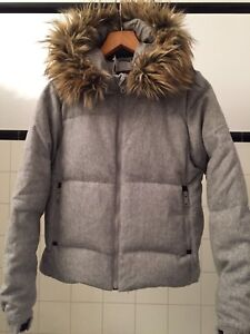 Women's down winter coat (size small)