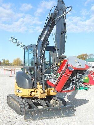 Excavator Flail Mowershredderbrush Mulcher Ventura 32 Tfc80 8-15gpm To 2