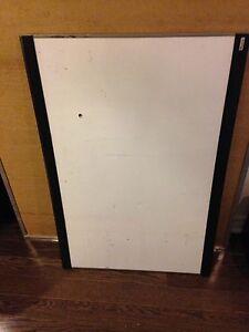 2'x3' Maker Board that has been shot with a pellet gun
