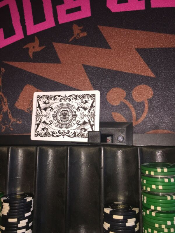 Blackjack hole card peeker table equipment for casino parties, dealing school
