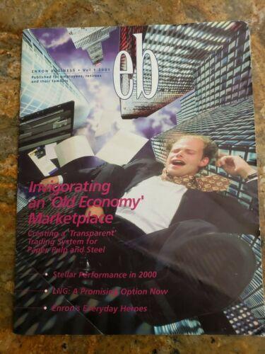 Very Rare Enron Employee Magazine Volume 1 2001 - PRICED TO SELL!!
