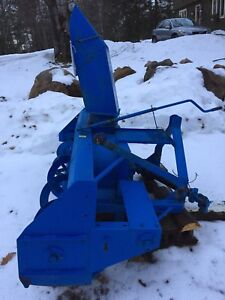 Snowblower. NEW PRICE 3 point hitch for tractor.