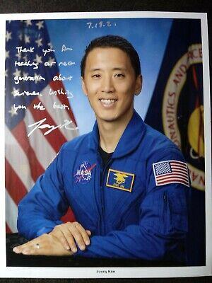 JONNY KIM Authentic Hand Signed Autograph 8X10 Photo - NASA ASTRONAUT