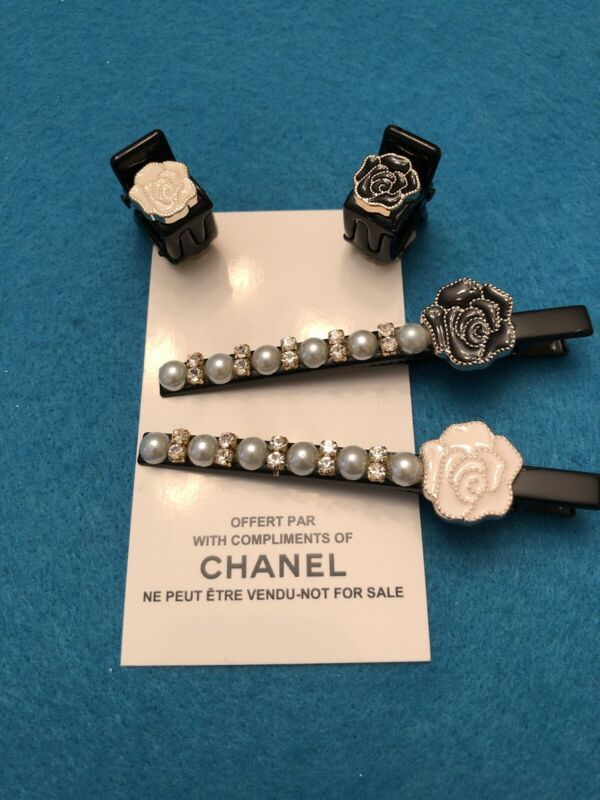 Chanel Beaute Vip Promo Hair Accessory Lot Of 4