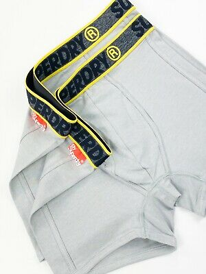Superdry Steel Grey Feeder Sport Boxer Double Pack