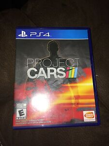 Project cars PS4 mint 20$