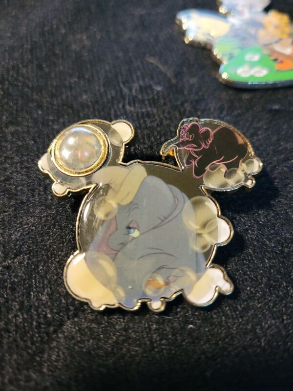 Disney Dreams Collection Dumbo Pin on Pin LE 1000 Pin 61037 DLR