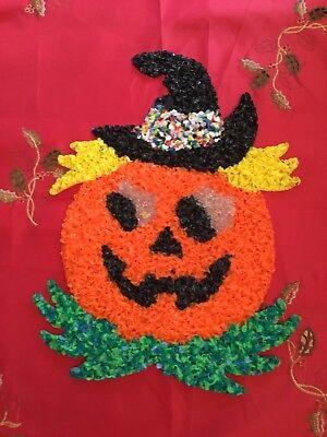 Vintage Melted Popcorn Halloween Decorations - Popcorn Halloween