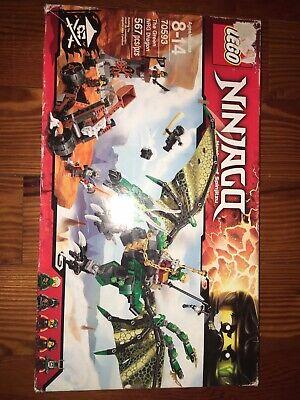 Lego Ninjago 70593 The Green NRG Dragon NEW RETIRED damaged box