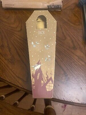 Nightmare Before Christmas Santa Jack Collection Doll in Gold Coffin N-223 RARE