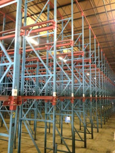 7 deep x 3 high Drive In Pallet Racking