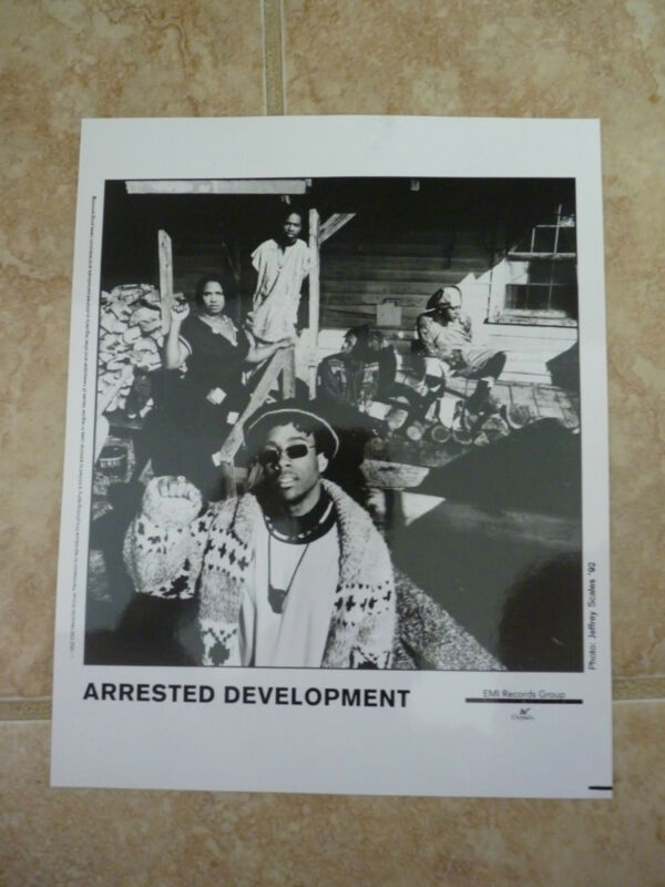Arrested Development B&W 8x10 Photo Music Promo
