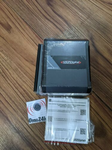 Soundigital 400.4 Evo 4.0 4-Channel 4 Ohms Car Amplifier NEW 2020
