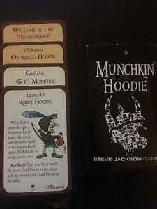 Munchkin - Hoodie promo card pack