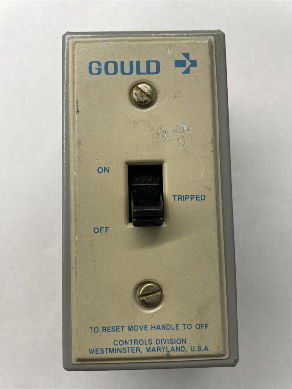 Gould Manual Starter 1HP 115-230V Cat# C10T1 SAIngle Phase