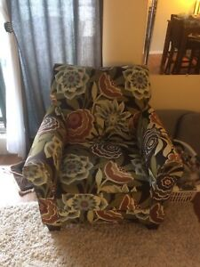 Oversize comfy chair