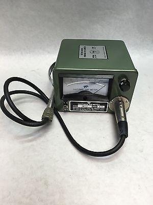 Vintage Hastings-teledyne Air Meter 0 - 5000 Fxm Model Ab-27