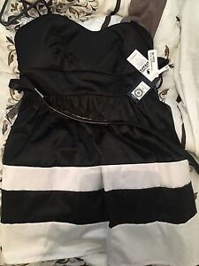 Black and white dress size 16 brand new Hamley Bridge Wakefield Area Preview