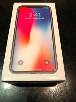 iPhone X - 64gb still in the box