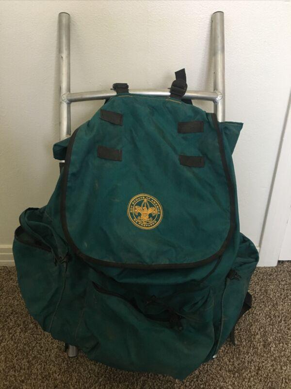 Vintage Boy Scouts of America Aluminum Framed Backpack