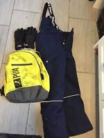 Found - Signed Backpack, Ski Pants, Gloves and Toque