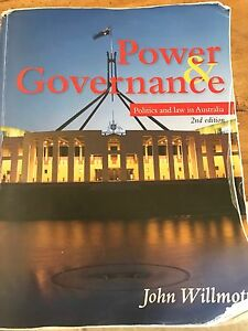 Power and Governance John Willmott Coogee Cockburn Area Preview
