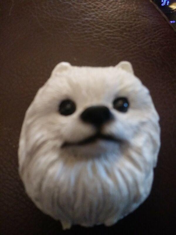 Miniature American Eskimo (Spitz) Resin Magnet