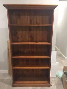 Timber Bookshelf Pitt Town Hawkesbury Area Preview